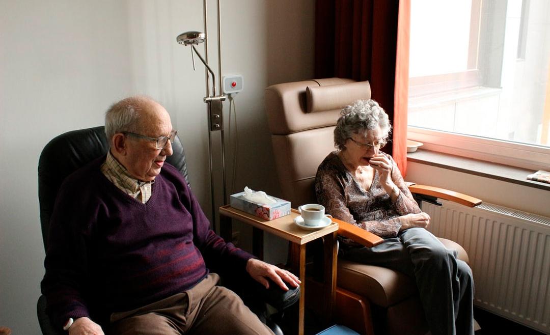 Размещение в пансионате для пожилых людей