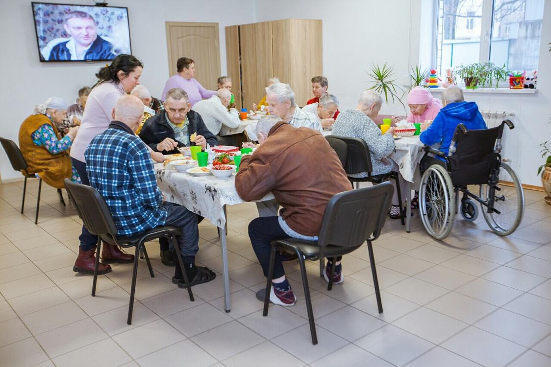 дом престарелых Гармония