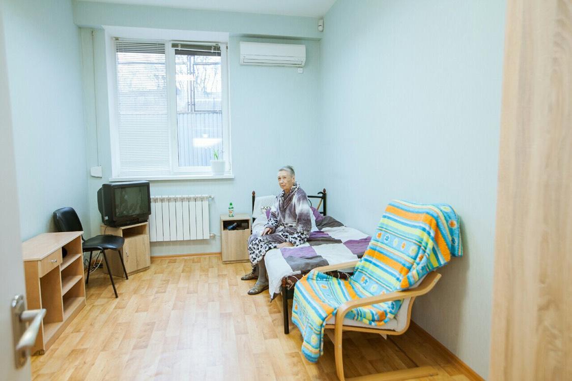 номер для проживания в доме престарелых Гармония