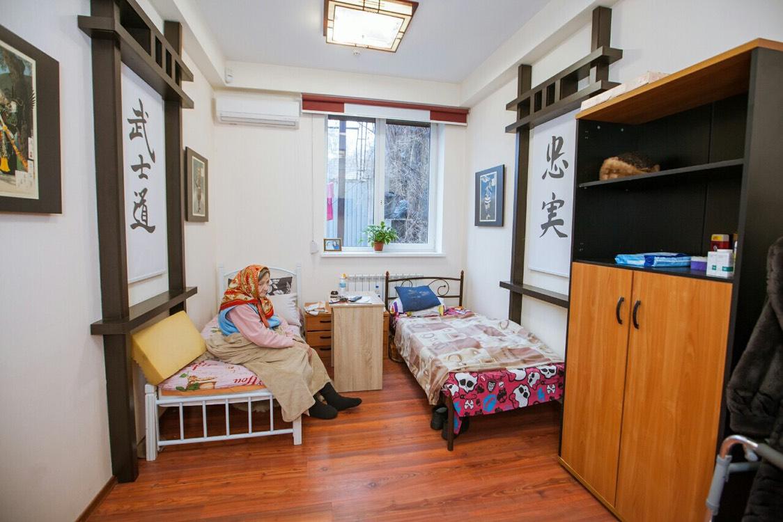 комната в доме престарелых Гармония