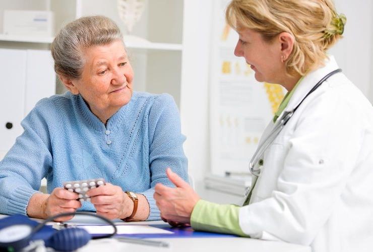 Низкое давление у пожилых
