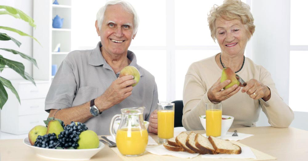 Здоровое питание для людей в возрасте 60 лет и старше